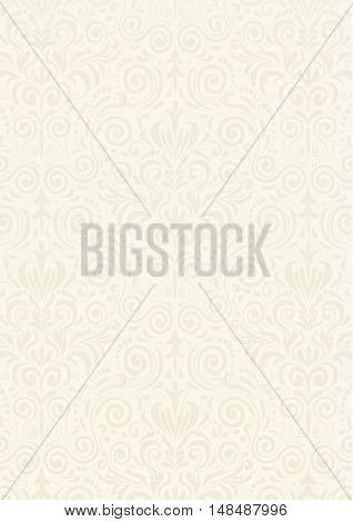 Light Beige Vintage Pattern Textured Background