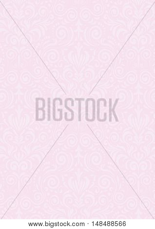 Light Pink Vintage Pattern Textured Background