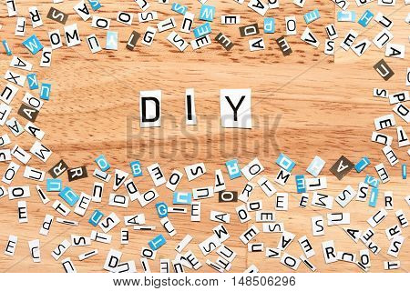 Diy Word From Cut Out Letters