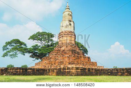 Ancient Yaku Tat Relics Kamalasai Kalasin Thailand