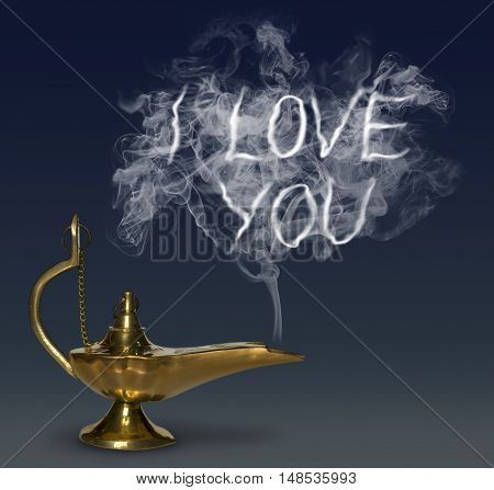 Aladdin's Magic Lamp genie mythology fantasy luck