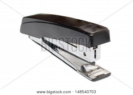 Metal Stapler Isolated On White Background