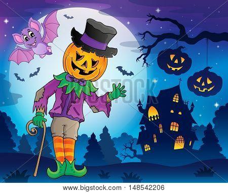 Halloween theme figure image 5 - eps10 vector illustration.