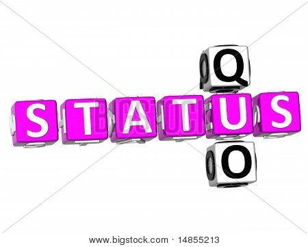 Status Quo Crossword