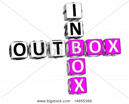 Outbox Inbox Crossword