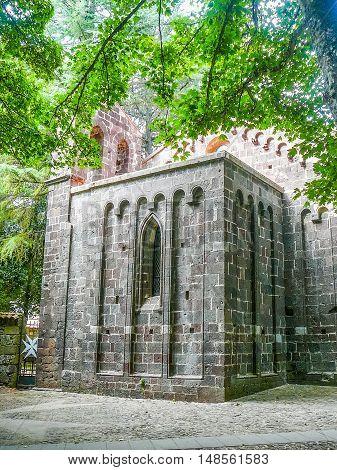 Hdr S Leonardo De Siete Fuentes Church In Santu Lussurgiu