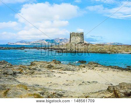 Hdr View Of Pelosa Capo Falcone