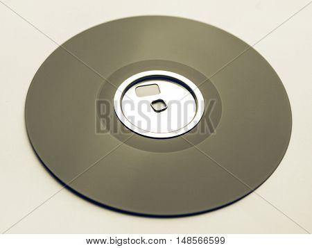 Vintage Looking Magnetic Disc