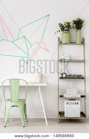Pastel Study Area Idea
