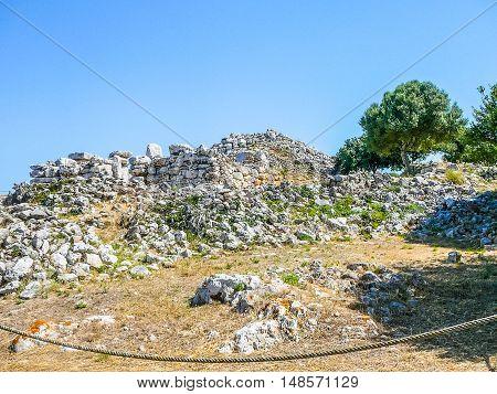 Hdr Torre Den Galmes In Minorca
