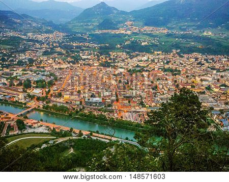 Hdr View Of Trento