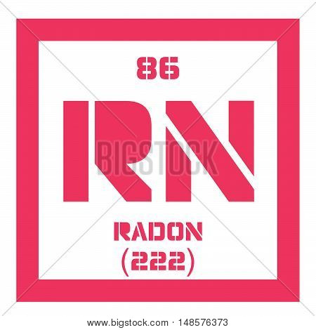 Radon Chemical Element