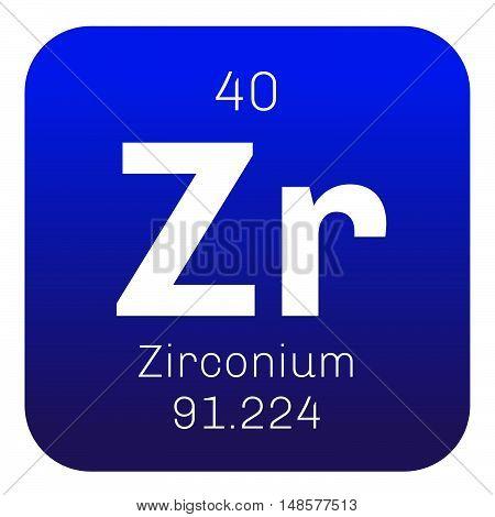 Zirconium Chemical Element
