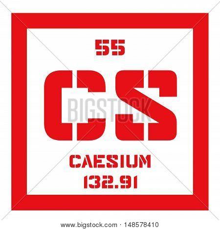 Caesium Chemical Element