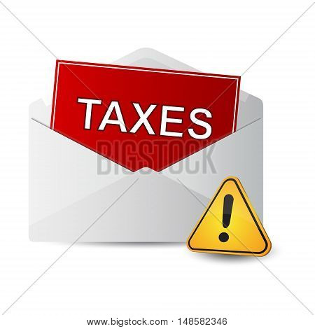 covert taxes icon on a white background
