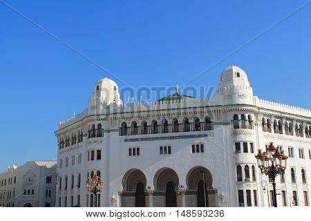 White city of Algiers, the capital city of Algeria