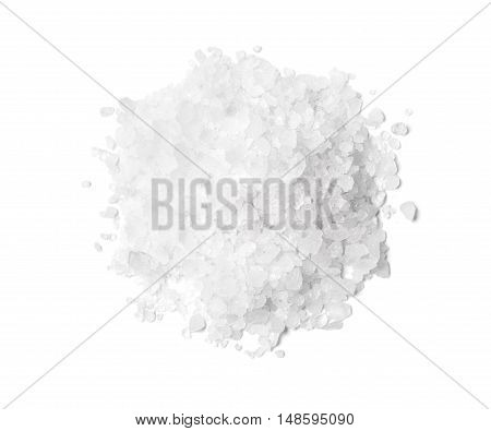 Pile Of White Rock Salt