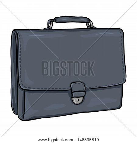 Vector Cartoon Briefcase