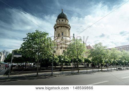 Cathedral on Gendarmenmarkt, Berlin, Germany