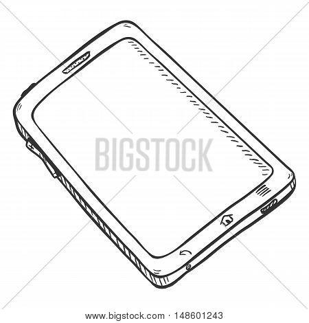 Vector Single Sketch Tablet Pc