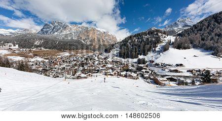 Val Gardena Ski Resort