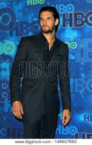 LOS ANGELES - SEP 18:  Ben Barnes at the 2016  HBO Emmy After Party at the Pacific Design Center on September 18, 2016 in West Hollywood, CA