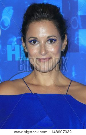 LOS ANGELES - SEP 18:  Angelique Cabral at the 2016  HBO Emmy After Party at the Pacific Design Center on September 18, 2016 in West Hollywood, CA