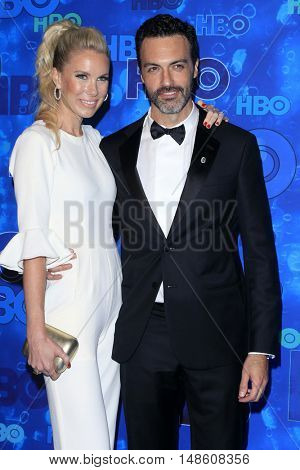 LOS ANGELES - SEP 18:  Elspeth Keller, Reid Scott at the 2016  HBO Emmy After Party at the Pacific Design Center on September 18, 2016 in West Hollywood, CA