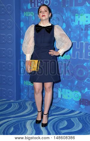 LOS ANGELES - SEP 18:  Shannon Woodward at the 2016  HBO Emmy After Party at the Pacific Design Center on September 18, 2016 in West Hollywood, CA