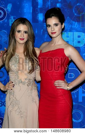 LOS ANGELES - SEP 18:  Laura Marano, Vanessa Marano at the 2016  HBO Emmy After Party at the Pacific Design Center on September 18, 2016 in West Hollywood, CA