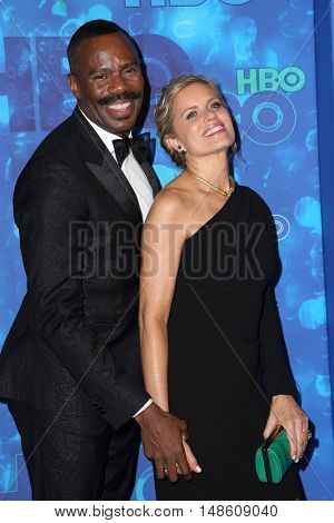 LOS ANGELES - SEP 18:  Kim Dickens, Colman Domingo at the 2016  HBO Emmy After Party at the Pacific Design Center on September 18, 2016 in West Hollywood, CA