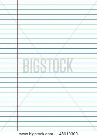 Exercise Book Paper Texture
