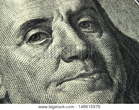 US dollar bill currency sign USA paper bill treasury