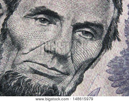 US dollar bill currency USA treasury paper