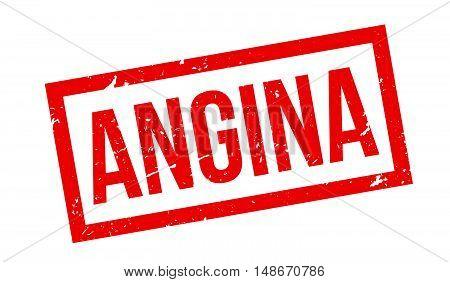 Angina Rubber Stamp