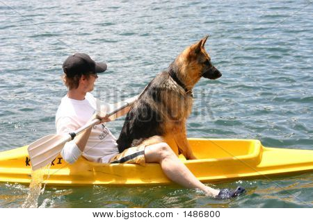 Out For A Paddle