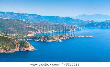 Corsica. Corse-du-sud, Piana Region Landscape