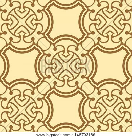 Abstract ornamental seamless pattern. Seamless background. Vector illustration
