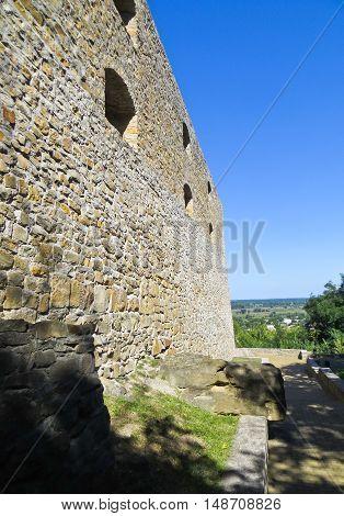 Bastion of Petro Doroshenko in Chigirin Ukraine