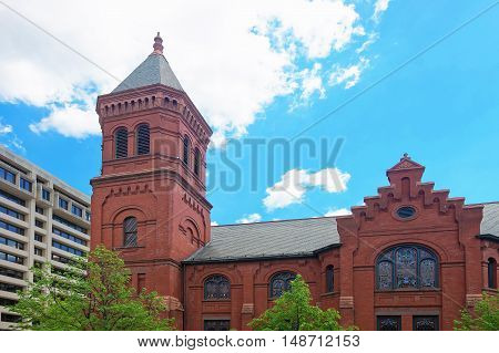 Concordia German Evangelical Church And Rectory In Washington Dc Usa