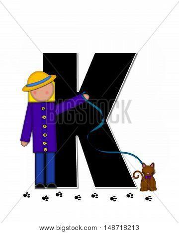 Alphabet Children My Pets K
