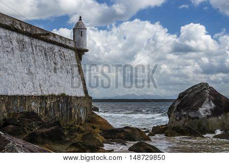 Fort Nossa Senhora dos Prazeres at Ilha do Mel Paranagua Parana Brasil