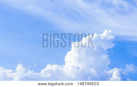 Beautiful Clouds And Sky In The Good Day