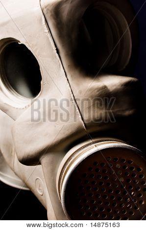 Old Gasmask Closeup