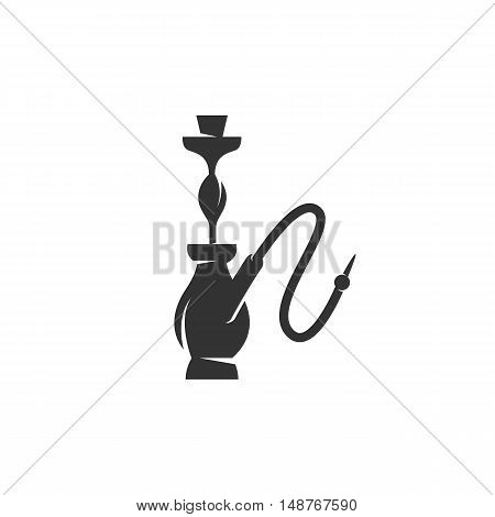 Hookah Icon isolated on a white background. Hookah vector logo - stock vector