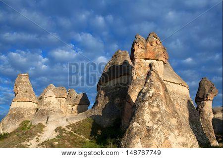 Pasabag Valley In Cappadocia, Turkey