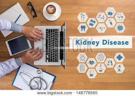 Professional Doctor Kidney Disease