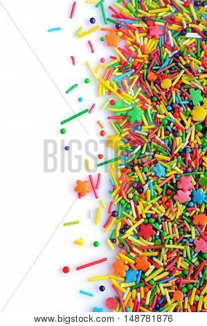 Colorful Sugar Sprinkle Dots