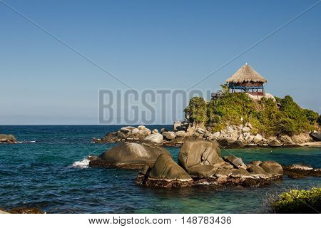 The National Natural Park Tayrona in Colombia