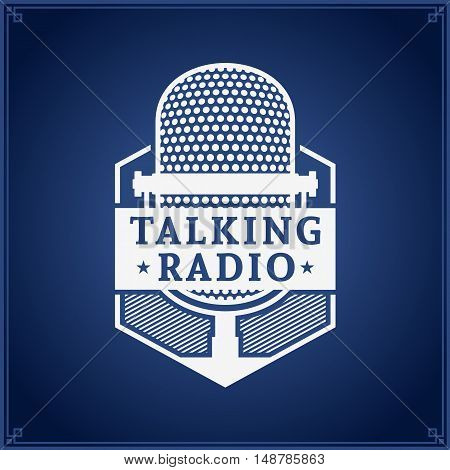 Talking Radio Logo